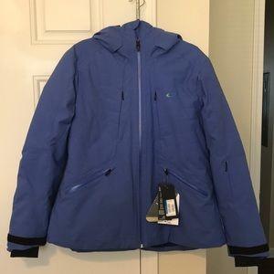 Oakley Brand New Women's XL Ski Jacket Blue